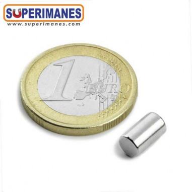 Cilindro magnético neodimio imán 5x8.47mm C-05-08.47