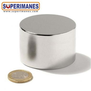 Imán neodimio disco redondo 50x30mm D-50-30
