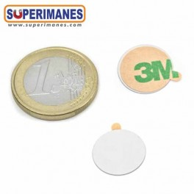 Discos acero fino con adhesivo. Base metálica MB-09