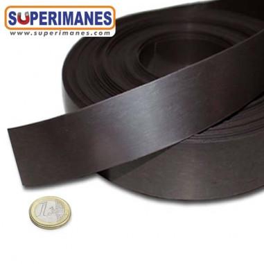 Imán flexible cinta natural 40 mm