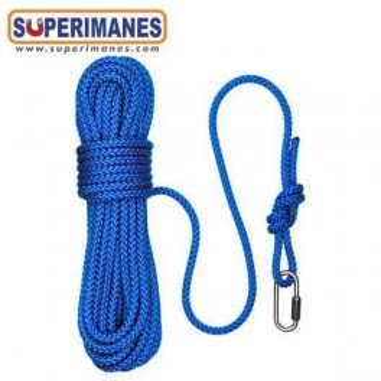 Cuerda para pesca magnetica 5mm azul, 25m