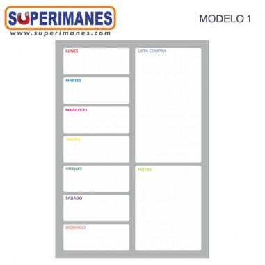 IMÁN PVC BLANCO BOBINA 61cm. 0.6mm