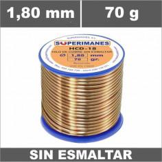 HILO 1,00 MM COBRE SIN ESMALTAR