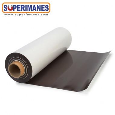 IMÁN PVC BLANCO BOBINA 61cm. 0.5mm