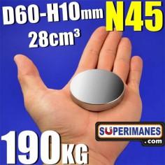 D-60-10 XXL  Fuerza 190 kg