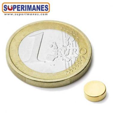 Iman-neodimio-disco-magnetico-redondo-6x2mm-n45-D-01-01-DORADO