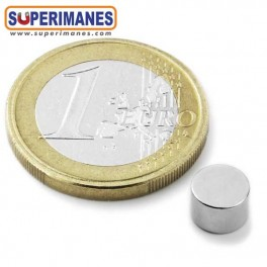 Iman-neodimio-disco-magnetico-redondo-6x4mm-n45-D-06-04