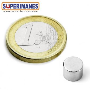 Iman-neodimio-disco-magnetico-redondo-8x6mm-n52-D-08-06