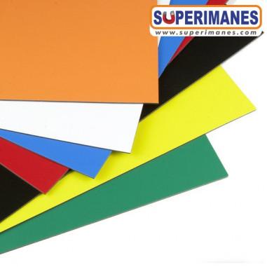 Láminas de imanes flexibles A3 colores surtidos
