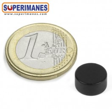 Iman-neodimio-disco-magnetico-redondo-10x5mm-n42-D-10-05-NEGRO