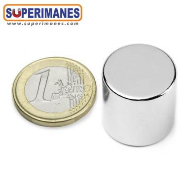 Imán neodimio disco magnetico redondo 20x20mm D-20-20