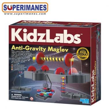 Juego levitación magnética KidzLabs Anti-Gravity Maglev