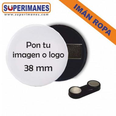 Chapas magnéticas para ropa doble imán personalizada
