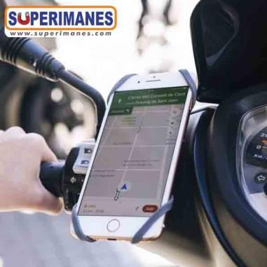 Soporte magnético móvil para moto