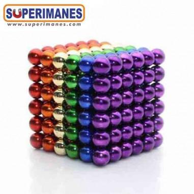 Set 216 Esferas magnéticas 5mm colores surtidos